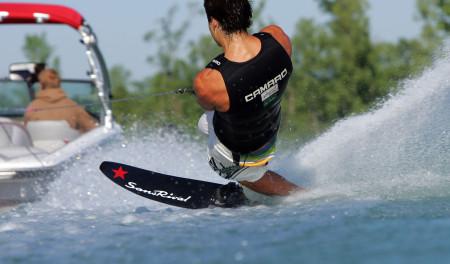 SansRival - water skiing - slalom water ski - monoski