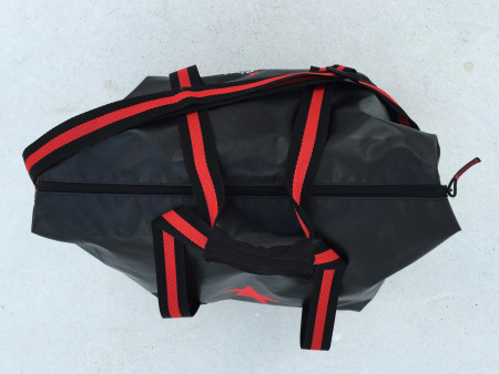 SansRival bag black red water sport equipment
