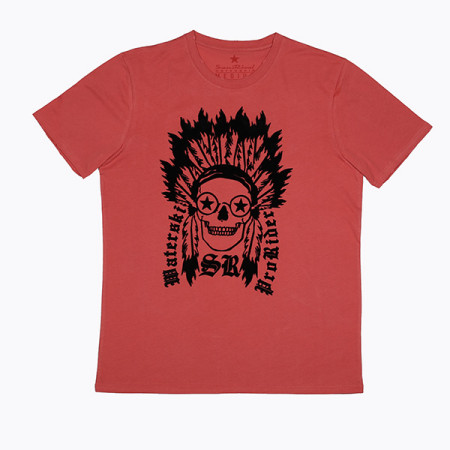 SansRival - t-shirt - gothic skull indian - waterskis - prorider