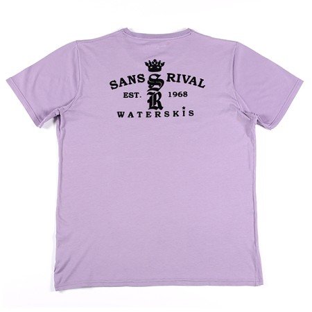 SansRival - t-shirt - waterskis - king - color lila - back