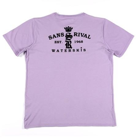 SansRival - t-shirt - waterskis - king - color lila - back