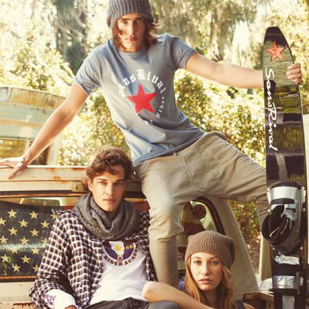 SansRival - t-shirt - red star - waterskis - monoski - accessories