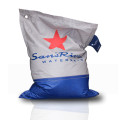 SansRival - accessories - bean bag - color grey blue - red star