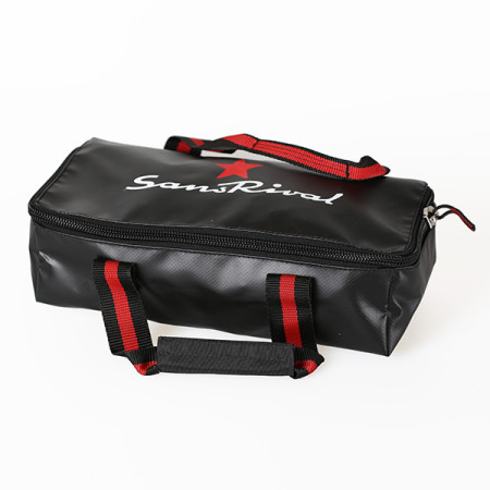 SansRival - toolbag - size small - watersport - accessory - color black red