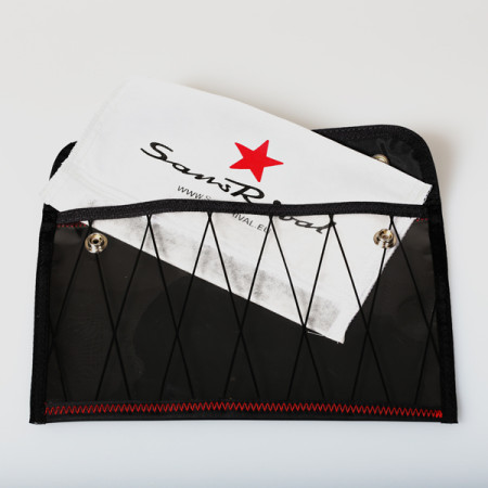 SansRival - bag - accessory - color black - red star