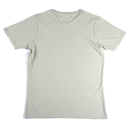 SansRival - t-shirt - bear - color grey - back