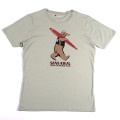 SansRival - t-shirt - bear - color grey - front