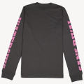 SansRival – shirt – long sleeve – waterskis – race rider academy – color black – back