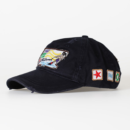 SansRival - cap waterskier - color blue