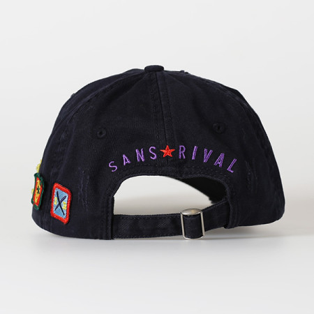 SansRival - cap winning team - color blue