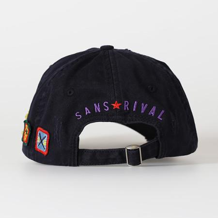SansRival - cap winning team - color blue