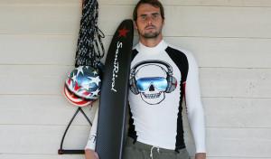 SansRival - Daniel Odvarko - waterski - water ski black - monoski