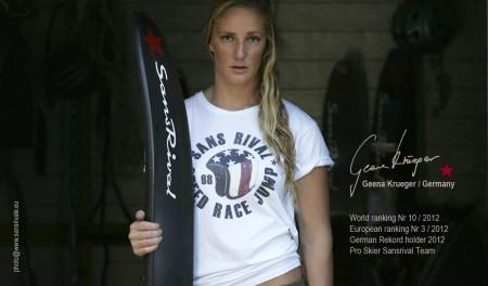 SansRival - Geena Krueger - Pro Skier SansRival Team