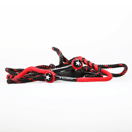 SansRival - water skiing - waterski - handles - color red black