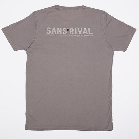 SansRival - t-shirt - hero - waterskis - color grey