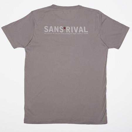 SansRival - t-shirt - hero - waterskis - color grey