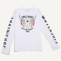 SansRival - shirt - long sleeve - waterski cowboy - color white