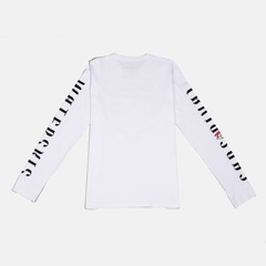 SansRival - shirt - long sleeve - color white - back