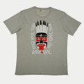 SansRival – t-shirt – mask – waterski team – color green