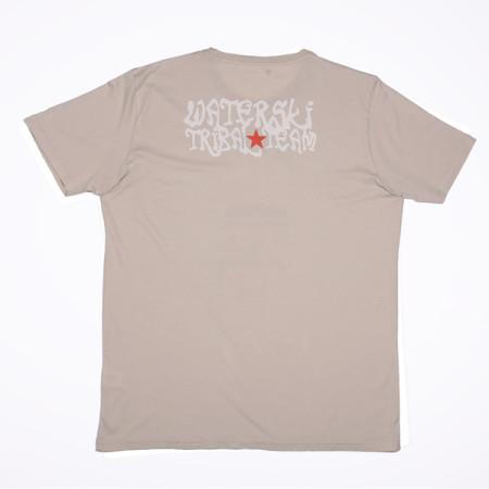 SansRival - t-shirt - mask - waterski team - color sand - back