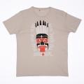 SansRival - t-shirt - mask - pro rider team - accessories - color sand