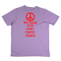 SansRival - t-shirt - peace - waterski club Saint Tropez France - back