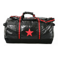 SansRival – sportbag – accessory – watersport – color black – red star