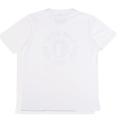 SansRival – t-shirt – helmet – speed race jump – color white – back