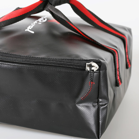 SansRival - toolbag - size M - square - watersport - accessory - color black red - detail