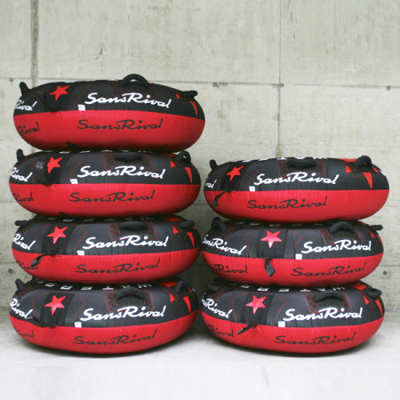 SansRival - water sports - tube - color black red